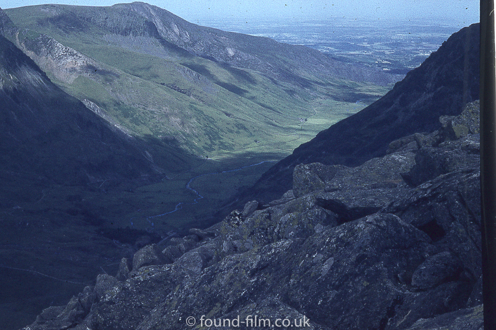 A valley in Wales