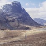 Mountain and Valley in Scotland