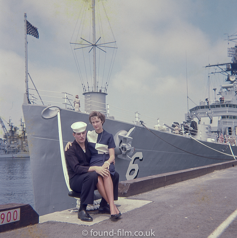 Sailor and Wife by USS Providence