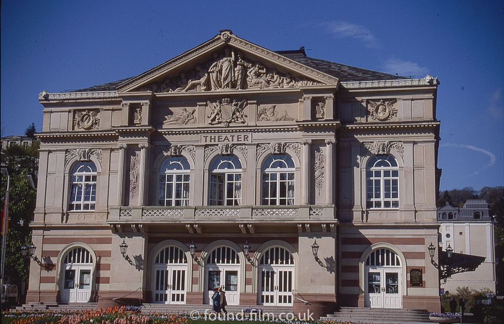 The theatre at Baden-baden