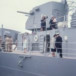USS Providence and crew