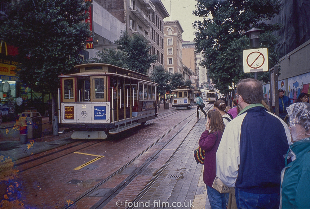 Watching the trams