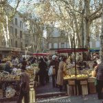 A market in Provence, France