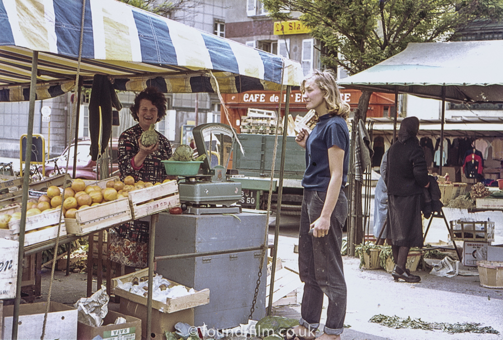 Buying from the market