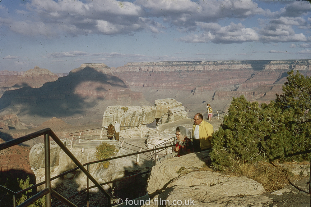 Grand canyon viewing platform