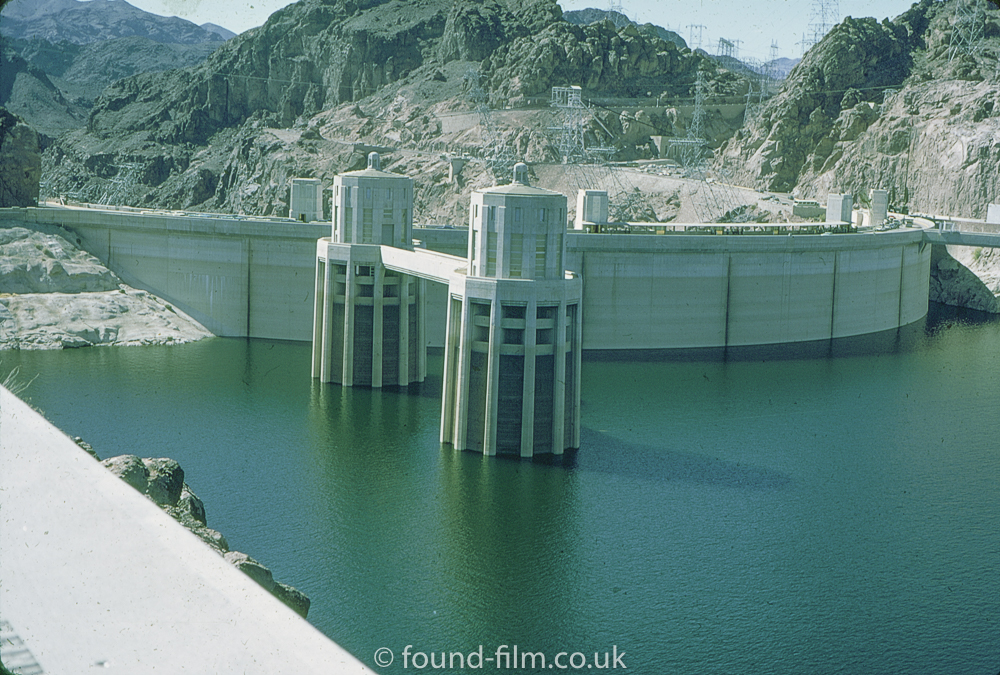 Hover dam inlet towers