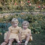 Sisters in the garden