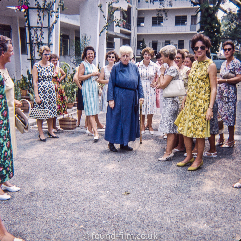 A group of ladies in Singapore