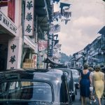 A street in Singapore in the early 1960s