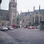 Durham market place, probably 1970s