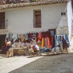Local shop at Guadalest in Spain, August 1971