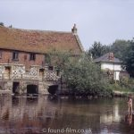 Harnham Water Mill in Salisbury, August 1972