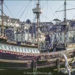 Replica of the Golden Hind, October 1972