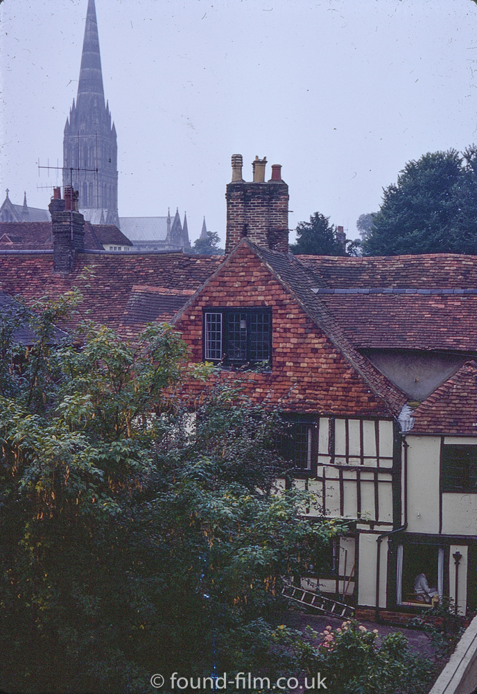 Salisbury from the White Hart hotel