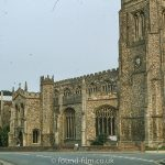 The church at Thaxted in Essex