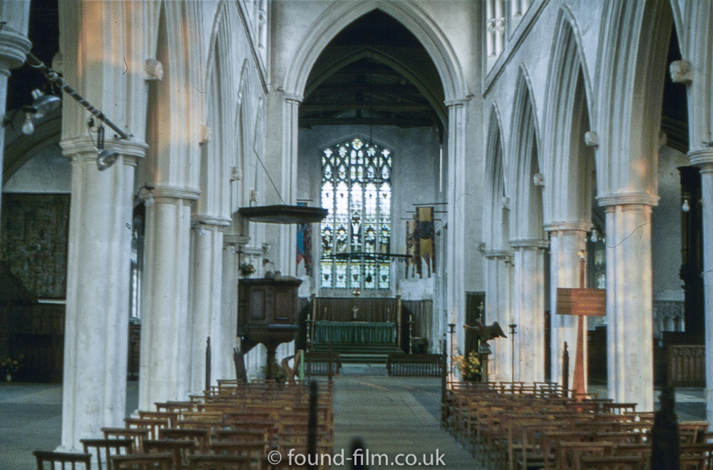 Thaxted church interior