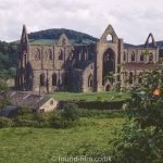 A view of Tintern Abbey from August 1963