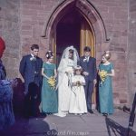Wedding in the early 1960s
