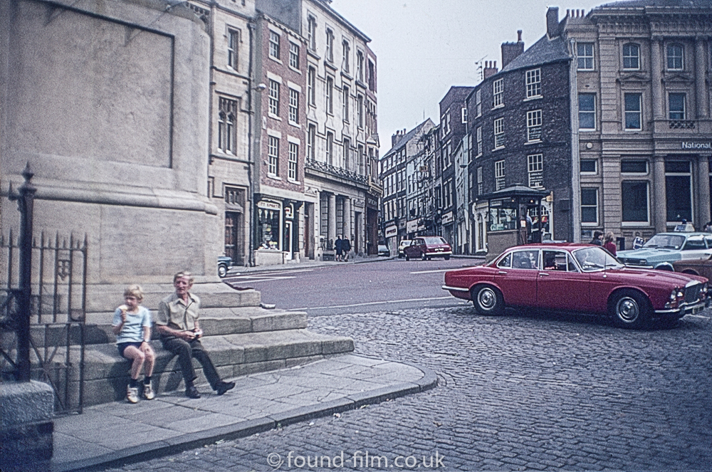 English city in the 1970s