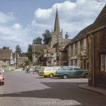 The Carpenters Arms pub in Lacock, June 1975