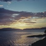 Sunset over Crinan – July 1960