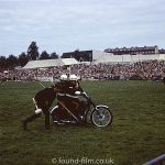Motor bike at show – May 1975