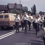 Band at Wollaston festival in June 1975