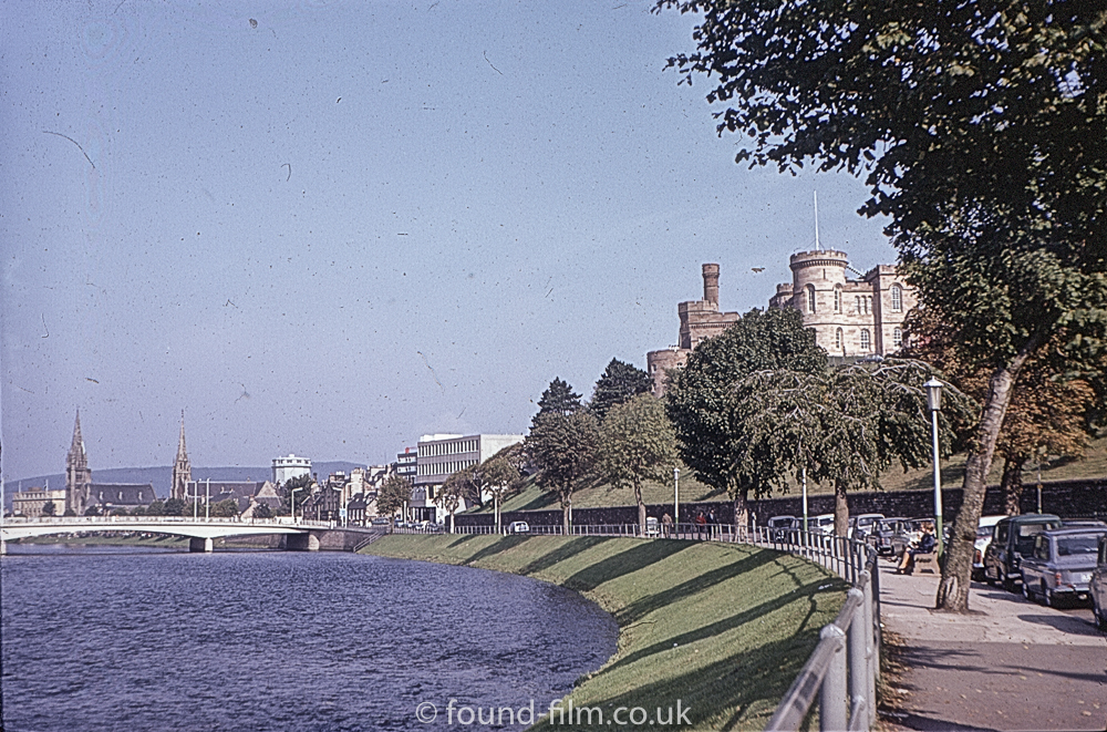 Inverness, the River Ness and the Castle in 1967