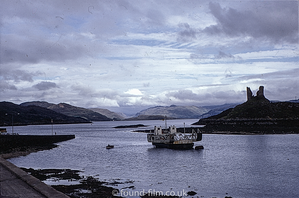 Ferry to the Isle of Skye taken in 1967