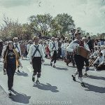 Morris men parade in public event