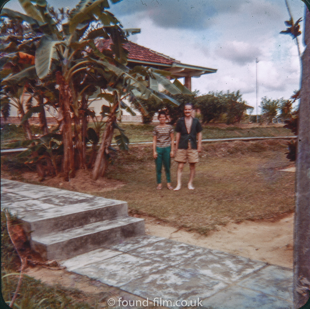 Photos of RAF Seletar - Couple in the harbour