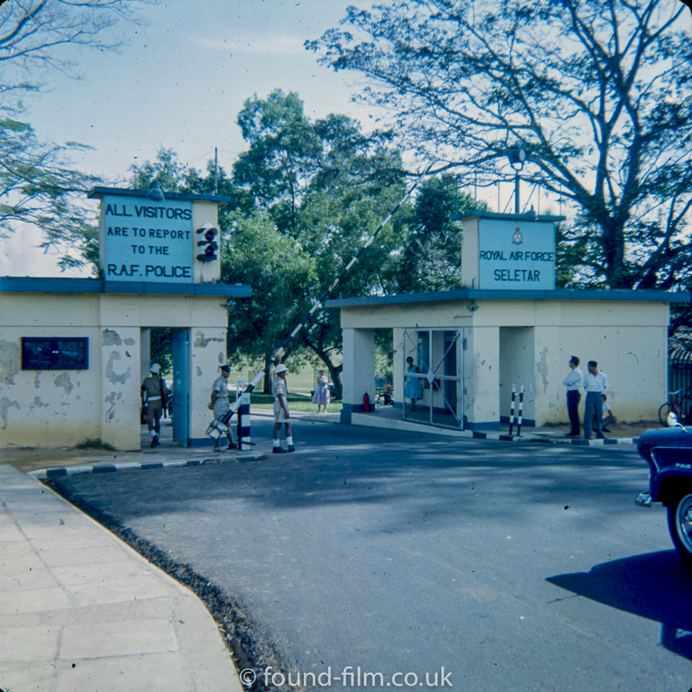 Photos of RAF Seletar from the mid 1960s
