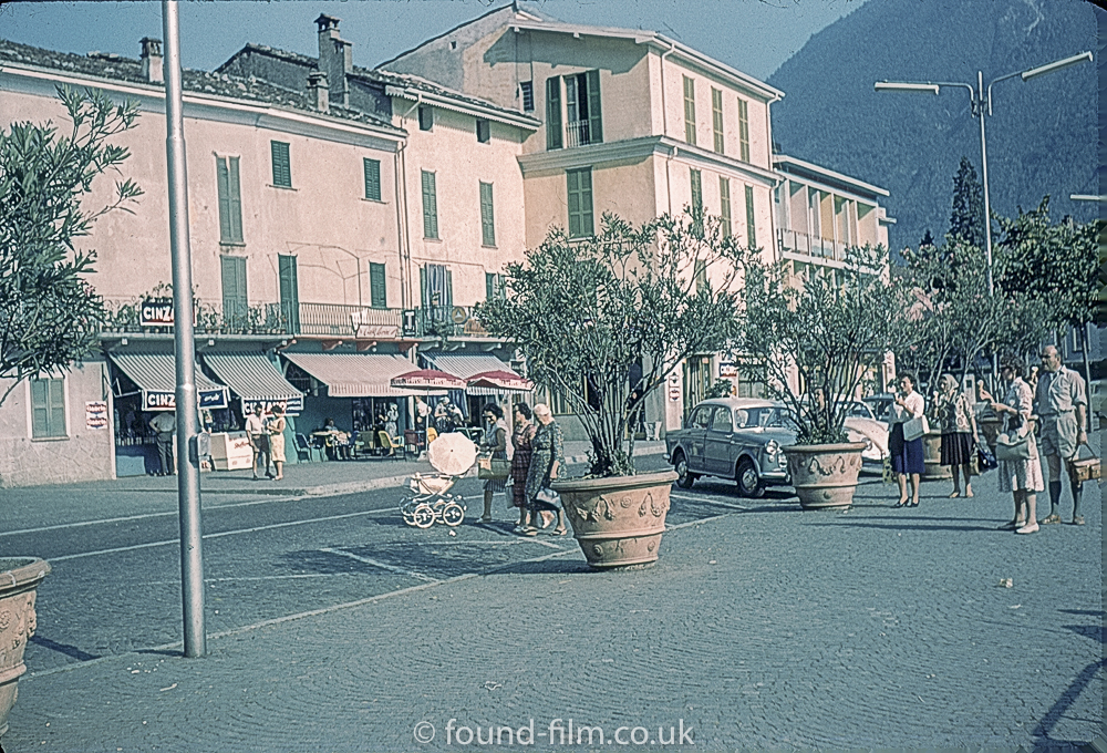 A town in Switzerland early 1960s