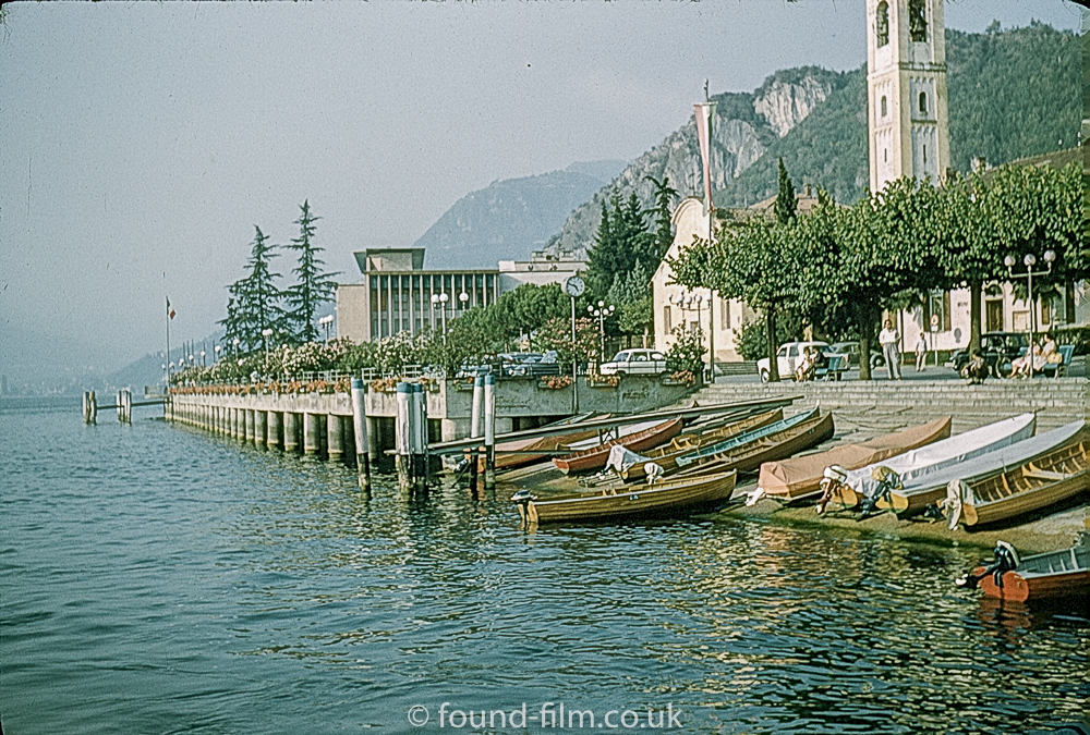 Boats on the shore of a Lake – c1961