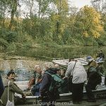 Canal trip on Czech river – November 2001