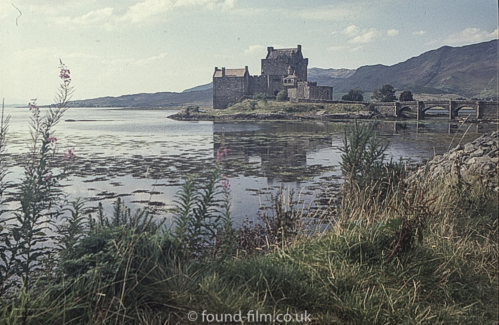 Pictures of Eilean Donan Castle from 2002