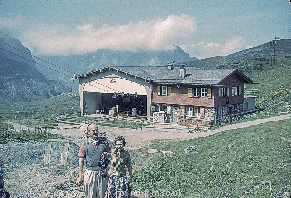 Joch Pass, Switzerland c1961