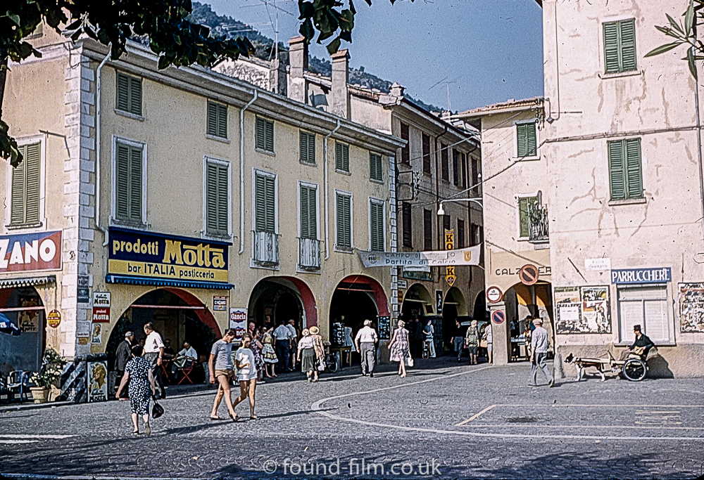 Shopping Arcades in Lugano 1961
