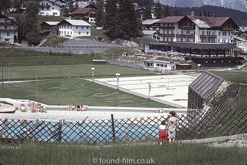 Outdoor pool at Seefeld