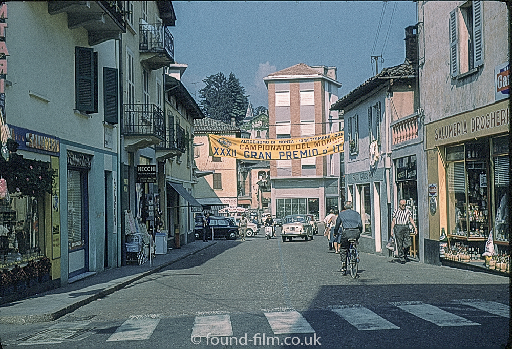 The Town of Ponte Tresa in Switzerland in about 1961