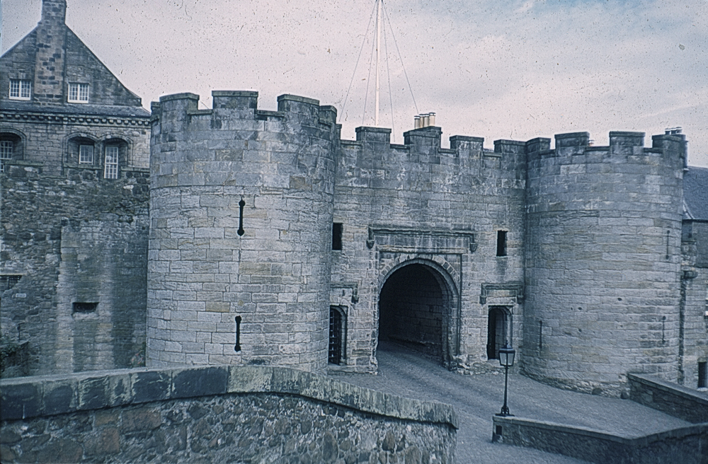 The Entrance to Stirling Castle in 1967