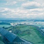 The view from Stirling castle in 1967
