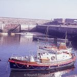 Views of Dunbar harbour from my slide set of Scotland