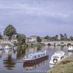 Boats at Bidford-on-Avon in 1974