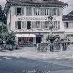 Altdorf in Switzerland by the William Tell Monument in 1962