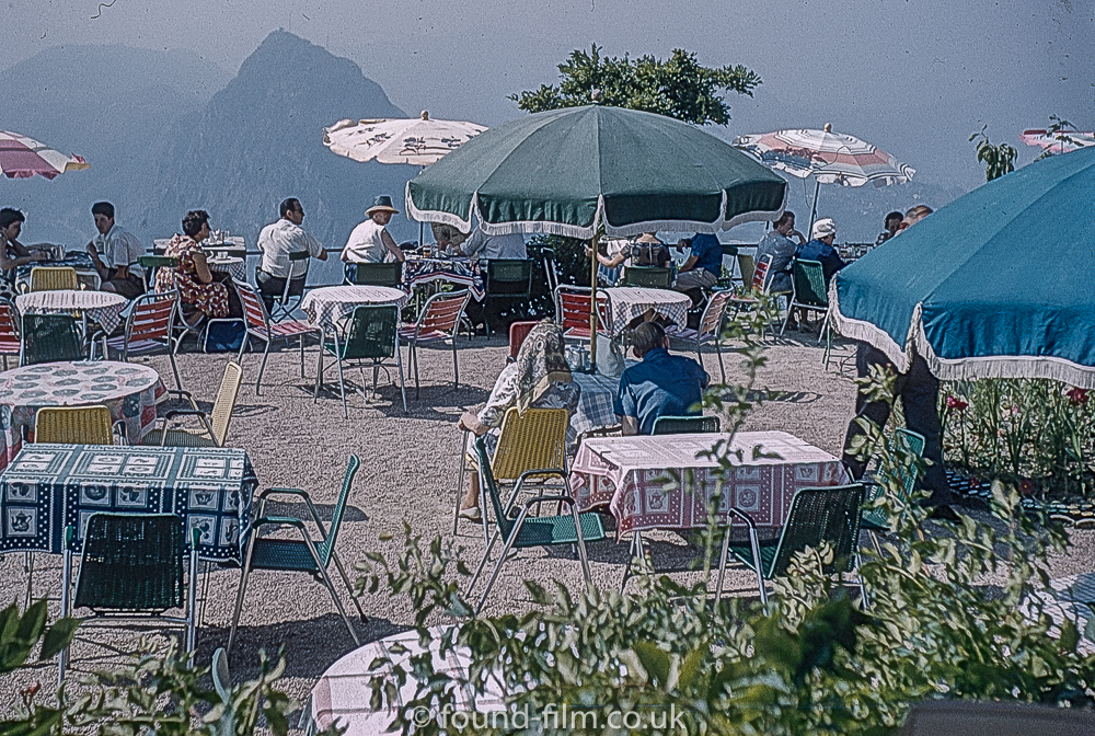 Monte Bre in Lugano Switzerland, in about 1962