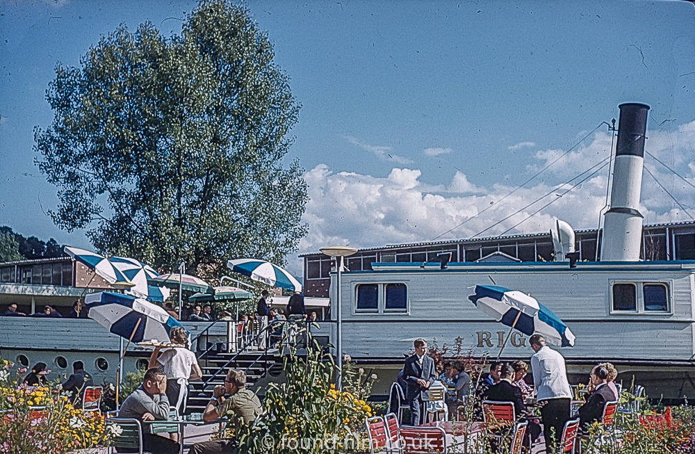 Rigi Restaurant Lucerne Switzerland 1962