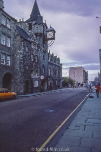 Canongate Tolbooth Edinburgh Oct 1978
