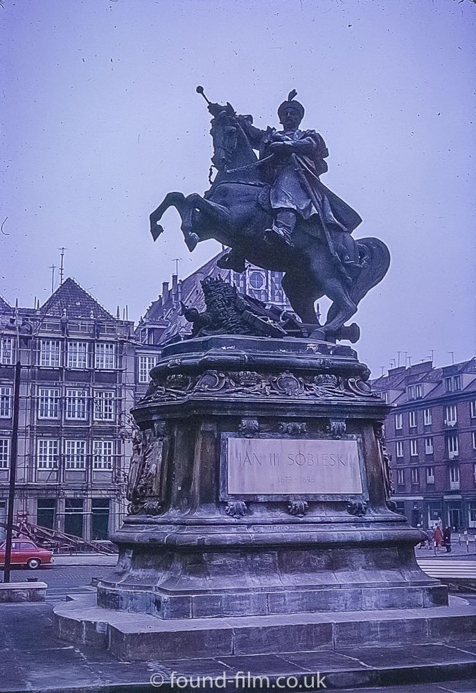 King Jan III Sobieski monument in Gdansk