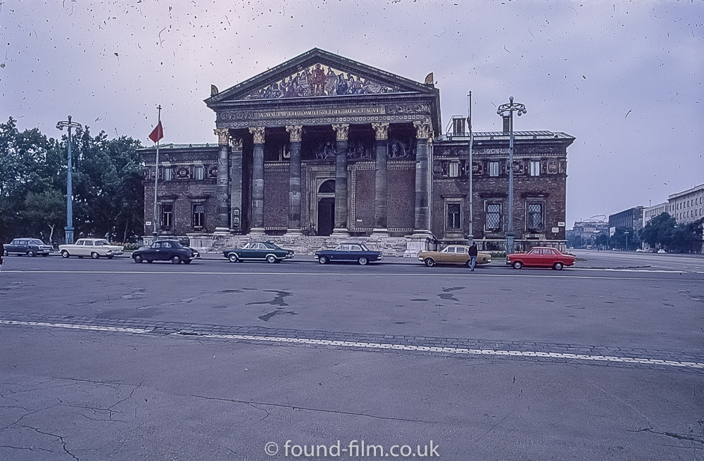 Budapest Kunsthalle (Hall of Art) in the 1960s